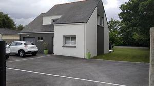 Aménagement d'un garage en chambre dans une maison à Thouaré-sur-Loire