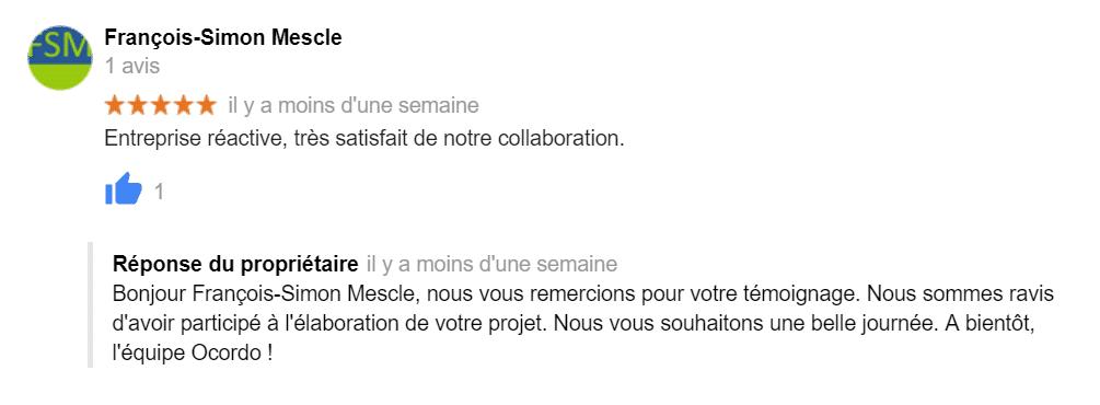Avis Ocordo Nantes