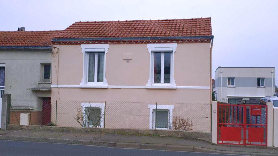 Estimatif du montant des travaux de construction de l'extension d'une maison à Rezé près de Nantes.